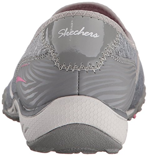 Skechers Sport Dames Good Life Fashion Sneaker Grijs / Roze