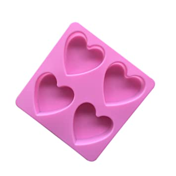 Leisial Herzform Silikonbackform Kuchenformen Silikon Kuchenform