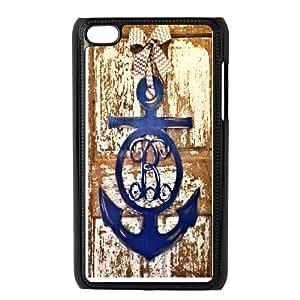 Ipod Touch 4 Phone Case Nautical Anchor Q6B9159638