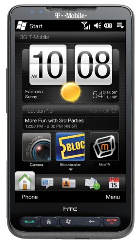 HTC HD2 Windows 3G Wi-Fi GPS Cell Phone | T-Mobile (Unlocked) by HTC