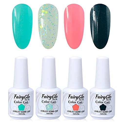 FairyGlo Nail polish UV LED Soak Off Gel Manicure Varnish Na