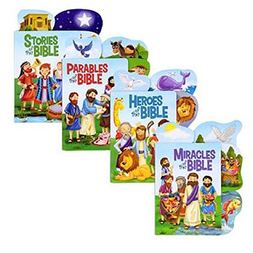 The Stories of the Bible Tabbed Books (Assorted, Designs Vary)