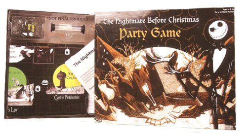 Party Game 32904 Neca Nightmare Before Christmas Board Game