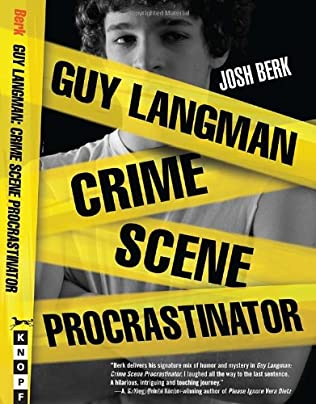 book cover of Guy Langman, Crime Scene Procrastinator