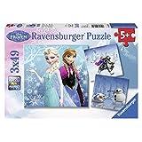 Ravensburger Disney Frozen Winter Adventures Puzzle Box (3 x 49-Piece)