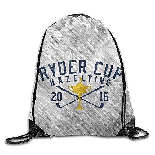 Hazeltine National Ryder Cup 2016 Sport Backpack Drawstring Print Bag