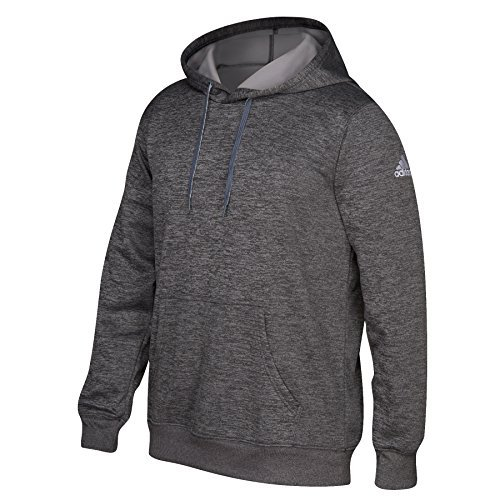 Adidas Mens Climawarm Tech Fleece Hoodie XS Dark Grey Heather