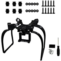 BTG Upgrade Extended Landing Gear and Camera Holder with Gimbal Kit for Hubsan H501S RC Quadcopter (Color: Black)