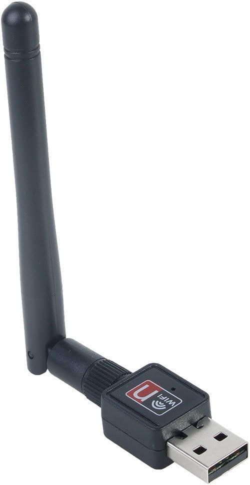 Mini 300Mbps USB WiFi Wireless Adapter Dongle LAN Card 802.11n//g//b w//Antenna PL