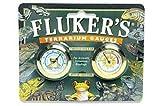 Fluker's Round Thermometer/Hygrometer Combo Pack for Reptiles