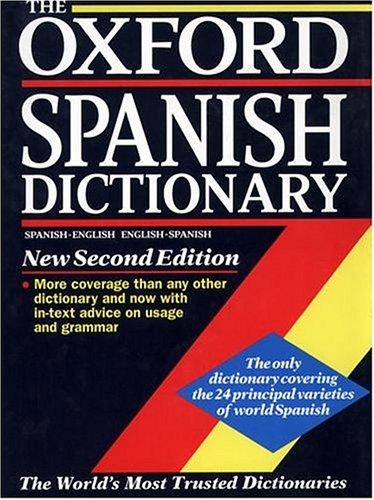 Diccionario Oxford Español-Ingles Cd-Rom Incluye Cd: Spanish-English, English-Spanish