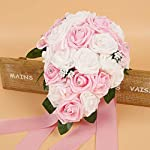 New-2-Colors-Rose-Wedding-Flowers-Bridal-Bouquets-Handmade-Artificial-Bridal-Bouquet-with-Ribbon-for-Wedding-DecorationWhite