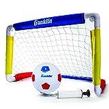 Franklin Sports Kids Soccer Goal with Ball & Pump - 24 X 16 Folding Goal