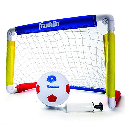 Soccer Ball Net - Franklin Sports Kids Soccer Goal with Ball & Pump - 24