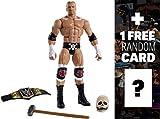 Triple H w/ Skull Mask, Sledgehammer & WWE Championship: WWE Elite Collection Action
