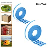 Zip Ties,U-TIMES Nylon Cable Ties For Binding Baggage Cargo,Ultra Long 8 Meters Cable Roll With Connectors - Without Scissors - 2 Pcs/Pack