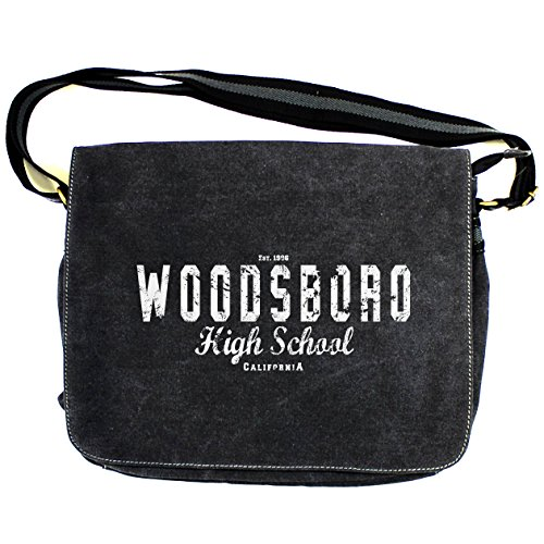 School Woodsboro Canvas High Vintage Scream Black Bag Despatch TEwH11q
