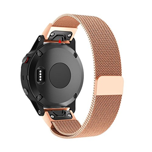 Fenix 5 Plus Bands Autumnfall Fit 22mm Width New Milanese Import