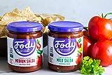 Fody Foods Vegan Mild Salsa Pack   Chunky Tomato