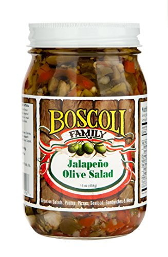 Jalapeno Olive Salad (32oz.) by Boscoli Foods