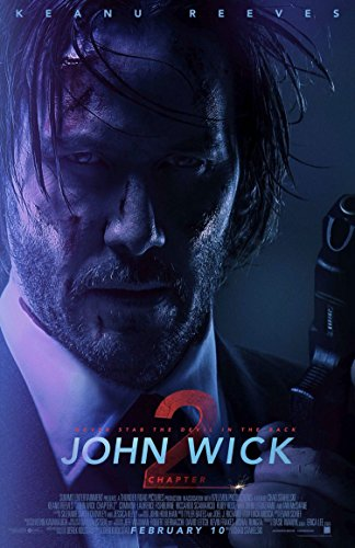 JOHN WICK CHAPTER 2 MOVIE POSTER 2 Sided ORIGINAL FINAL NM 27x40 KEANU REEVES