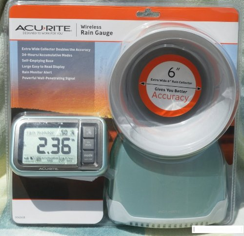 Acurite Wireless Gauge 00614 collector