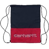 Carhartt Bolsa Terrace Drawstring rojo/marino/blanco unisex
