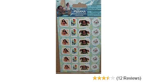 96 stickers in package Greenbrier SG/_B01MQTMXYI/_US Disney Moana Mini Stickers
