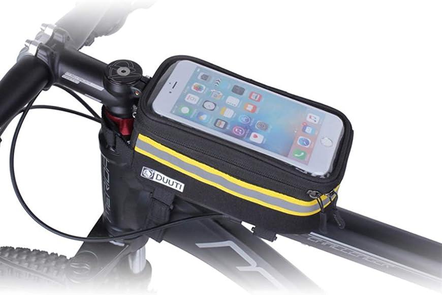 Fahrrad Front Frame Touchscreen Wasserdichte Telefontasche Top Tube Packtasche