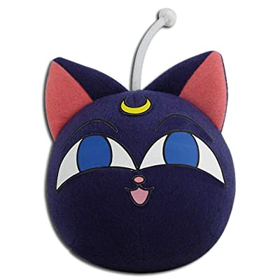 "Great Eastern Entertainment Sailor Moon R- Luna P 3"" Plush: Toys & Games"