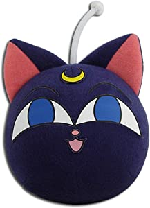 "Great Eastern Entertainment Sailor Moon R- Luna P 3"" Plush, Purple, 8"""