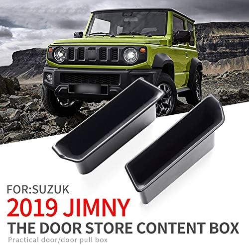 Linfei Türgriff Aufbewahrungsbox Für Suzuki Jimny 2019 2020 Armlehne Box Haustür Zubehör Container Halter Fach Auto Organizer Auto