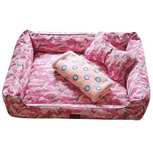 AIDELAI Pet Mat, Large Dog Kennel Cat House Removable and Wa