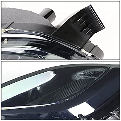DNA MOTORING FL-ZTL-132-SM Front Bumper Fog Light, Driver and Passenger Side: Automotive