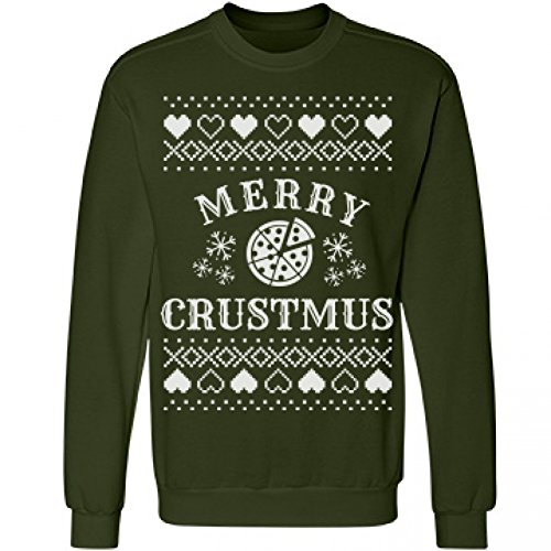 Merry Crustmus Pizza Ugly Sweatshirt