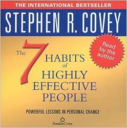 The 7 Habits Of Highly Effective People (Audio): Amazon.co.uk ...