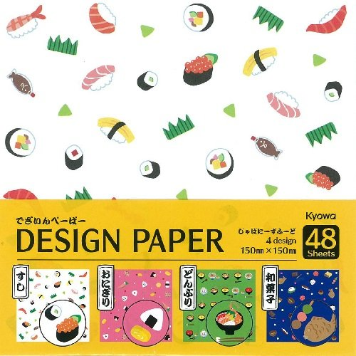 Japan Stationery 48 sheets KYOWA Sakura Cherry Blossoms 4 Design Paper