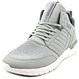 SUPRA Method Skate Shoe, Light Grey/White, 8.5 Regular US