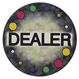 DA VINCI Large 2 Inch Ceramic Texas Holdem Poker