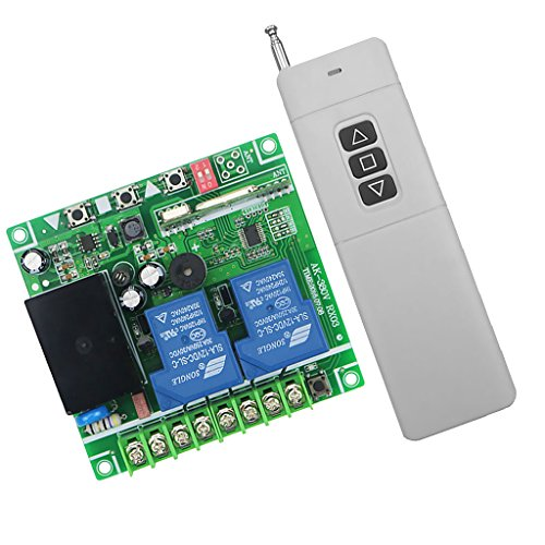 MagiDeal 3km AC220-380V Universal Two-way with Manual Function Remote Control Switch by MagiDeal