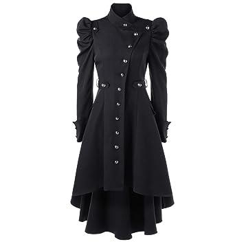 Oudan Abrigo para Mujer, Moda de Invierno y Nieve de la Mujer, Espesado,