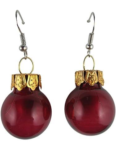 Christmas Ball Christmas Ball Earrings Jewelry Jewellery Tree ...
