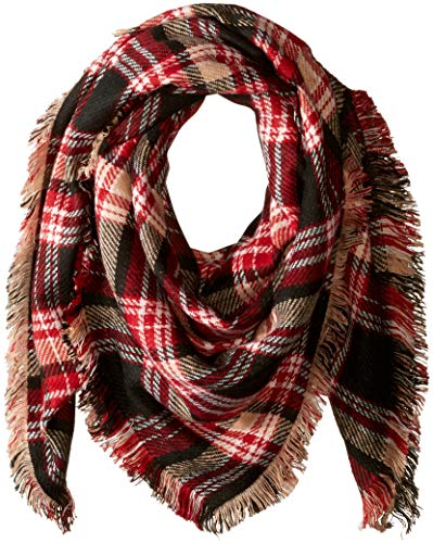 Bundle up with this plaid Vince Camuto scarf.