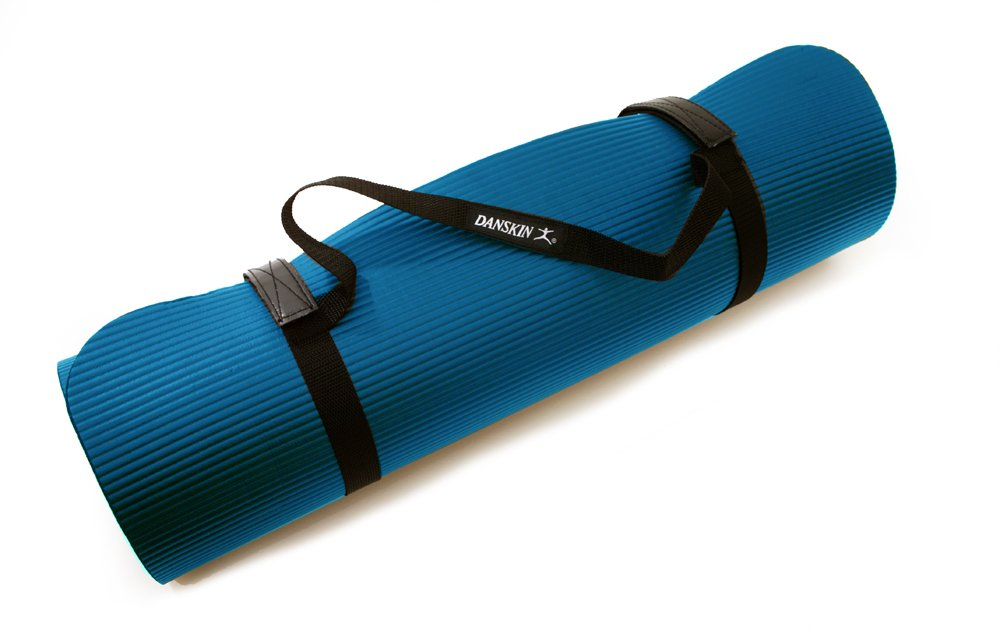 Danskin Deluxe Fitness Mat (Blue): Amazon.es: Deportes y ...