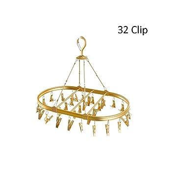 Amazon.com: LQW HOME-Hangers - Estante de secado de aleación ...