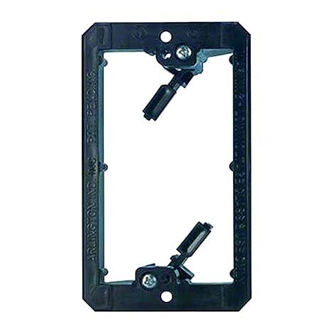 amazon com vanco lv1 pvc low voltage mount brackets single pack of