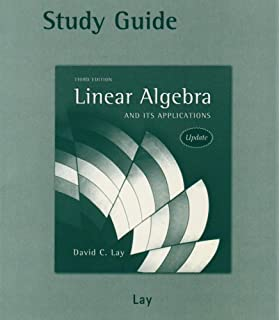 Linear Algebra And Its Applications Instructor S Edition Update