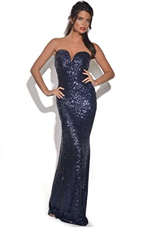 Tfnc sequin maxi dress