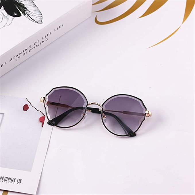 Wang-RX Gafas de sol para niños Gafas redondas raras Gafas ...