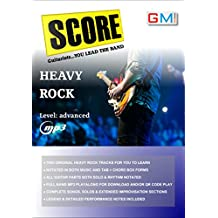 Score - Guitarists You Lead The Band! : Heavy Rock Play Along (SCORE PLAY ALONG SONGS FOR GUITARISTS Book 2)